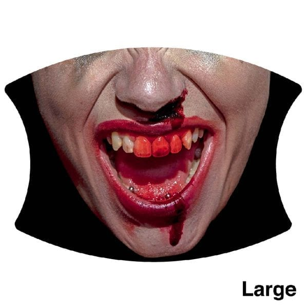 Woman blooded teeth, Large